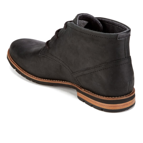 Rockport Men's Ledge Hill Suede Lace Up Chukka Boots - Black: Image 4