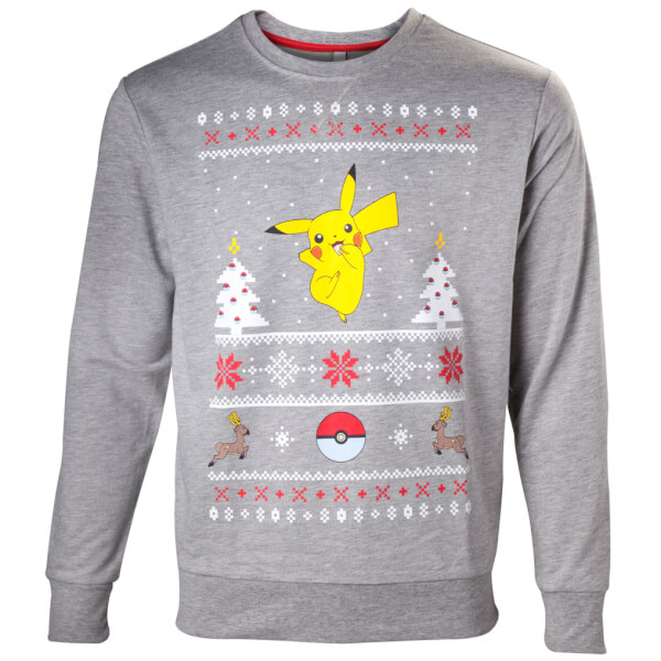 Pokémon Pikachu Christmas Jumper
