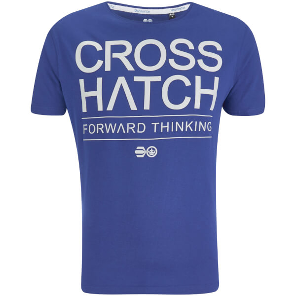 Crosshatch Men's Roshaun T-Shirt - Surf The Web