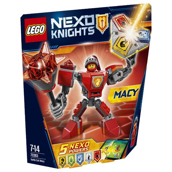 LEGO Nexo Knights: Battle Suit Macy (70363)