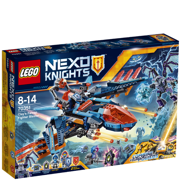 LEGO Nexo Knights: Clay's Falcon Fighter Blaster (70351)