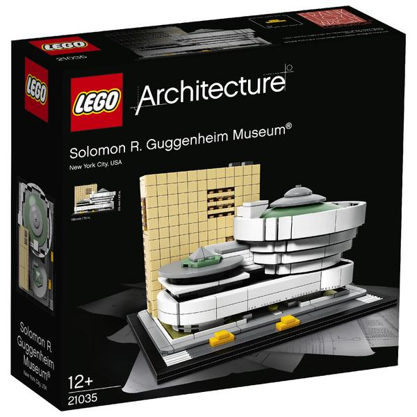 LEGO Architecture: Solomon R. Guggenheim Museum (21035)
