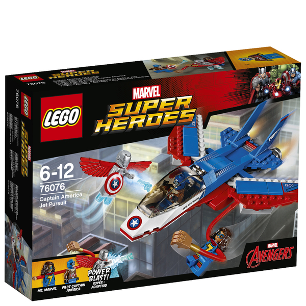 LEGO Marvel Superheroes: La poursuite en avion de Captain America (76076)