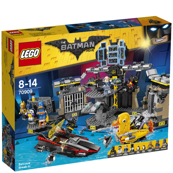 LEGO Batman Movie: Le cambriolage de la Batcave (70909)