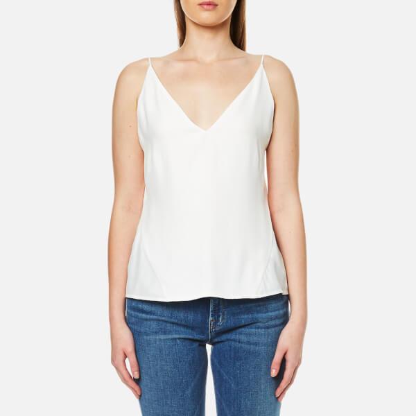 J Brand Women's Lucy Silk Cami - White