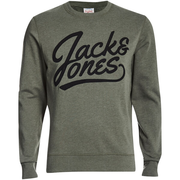 Sudadera Jack & Jones Originals Anything - Hombre - Caqui