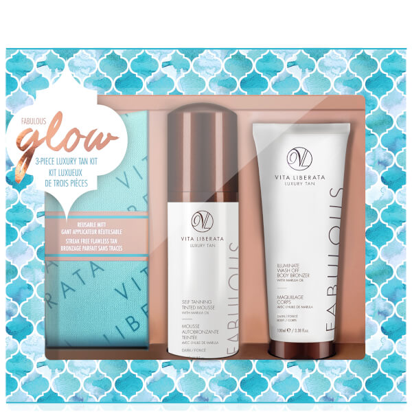 Vita Liberata Fabulous Glow Luxury Tan Box Kit - Dark Mousse