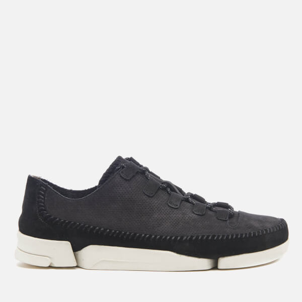 Clarks Originals Men's Trigenic Flex 2 Shoes - Black Leather