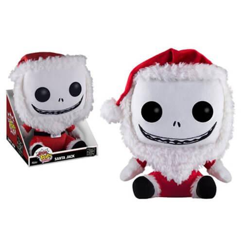 Peluche Jack Père Noël Méga Pop !