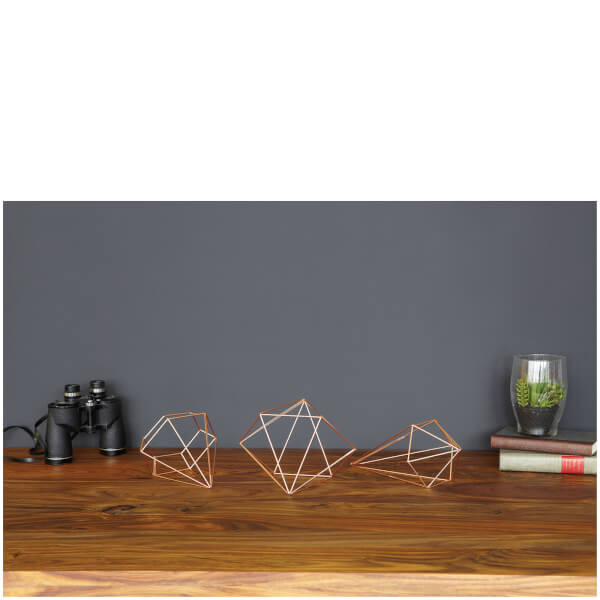 Umbra Prisma Wall Decor Black : Umbra prisma wall decor copper iwoot