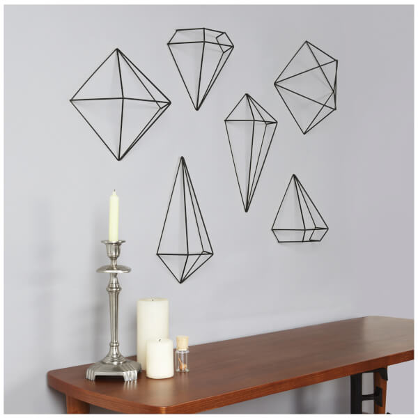Hive Wall Decor Umbra : Umbra prisma wall decor black free uk delivery over ?
