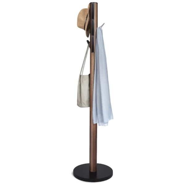 Umbra Flapper Coat Rack - Walnut