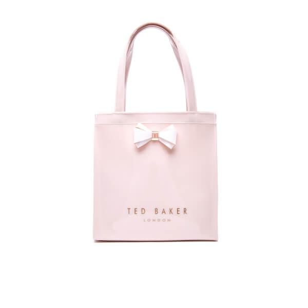 Ted Baker Women's Suzicon Colourblock Bow Small Icon Bag - Mid Pink