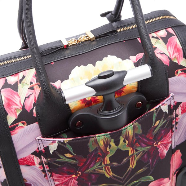 c2c302b1e Ted Baker Women s Donnie Lost Gardens Travel Bag - Black  Image 7