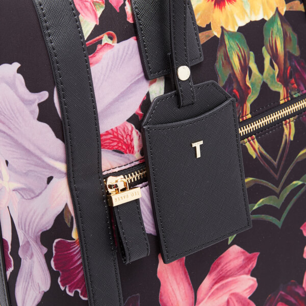3de198024 Ted Baker Women s Donnie Lost Gardens Travel Bag - Black  Image 3