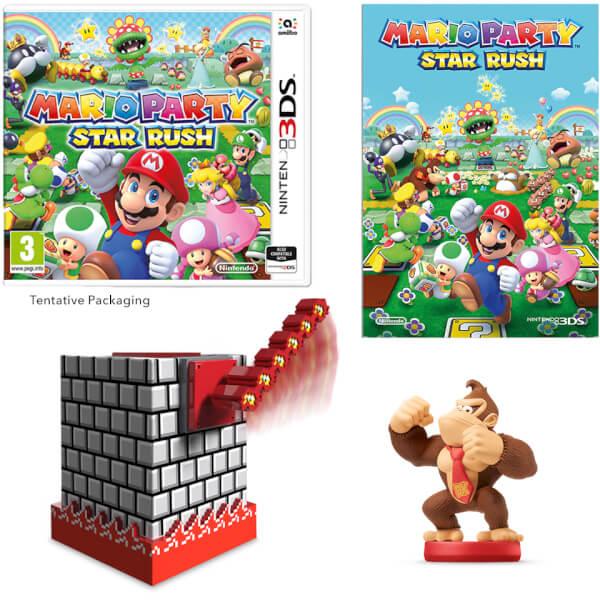 Mario Party: Star Rush + Donkey Kong amiibo Pack