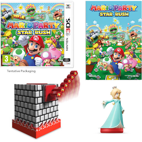 Mario Party: Star Rush + Rosalina amiibo Pack