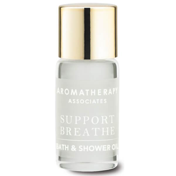 aromatherapy associates support breathe bath shower oil