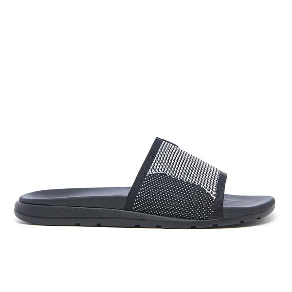 UGG Men's Xavier Hyperweave Treadlite Slide Sandals - Black