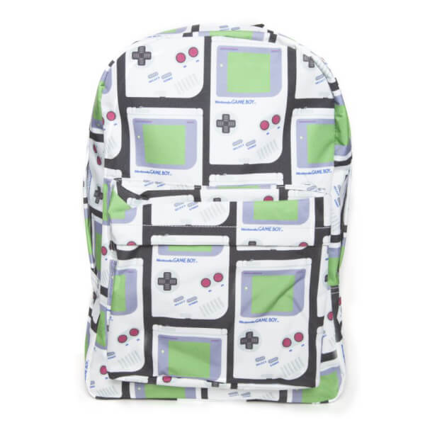 Nintendo Gameboy Backpack With All Over Print