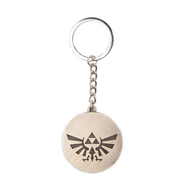 The Legend Of Zelda (Hyrule Crest Coin) - Metal Keychain
