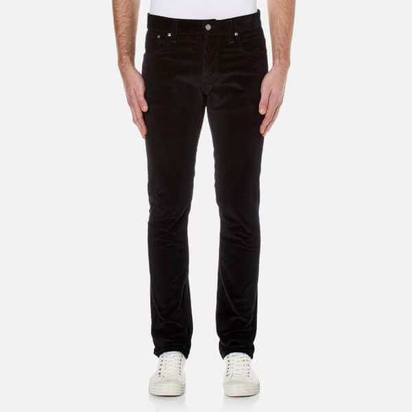 Nudie Jeans Men's Grim Tim Slim Straight Jeans - Black Cord
