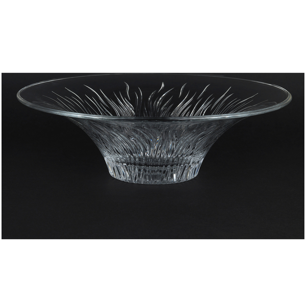 RCR Fire Crystallite Centre Piece Bowl