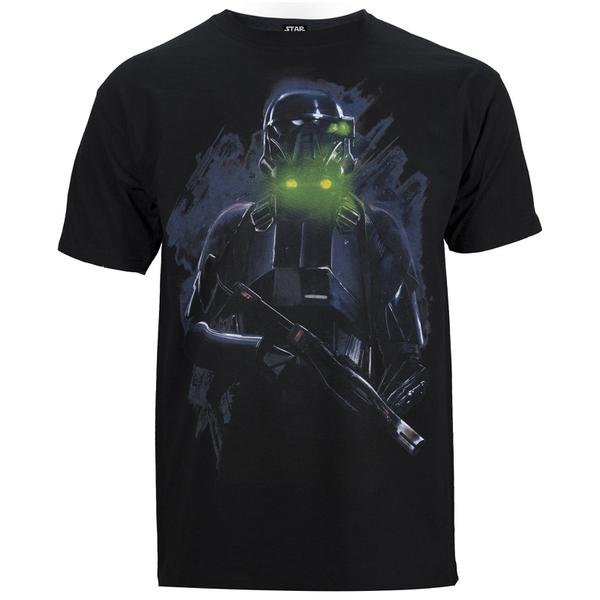 Star Wars Rogue One Men's Death Trooper T-Shirt - Black