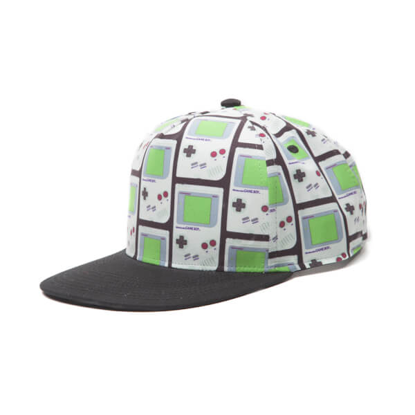 Game Boy All Over Snapback Cap