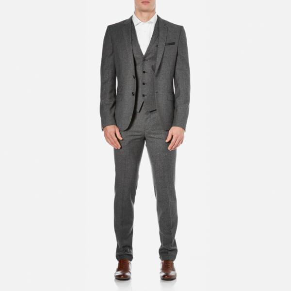 HUGO Men's Alid Slim Fit Suit - Black