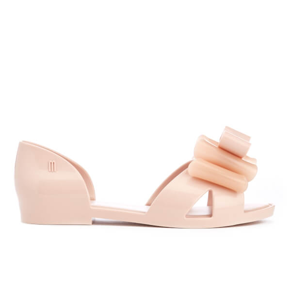 Mini Melissa Kids' Seduction Bow Flats - Blush