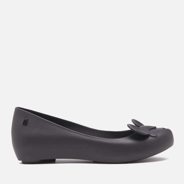 Melissa Women's Ultragirl Minnie Mouse Ballet Flats - Black