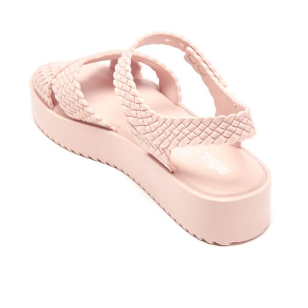 Melissa Women S Salinas Hotness Flatform Sandals Blush