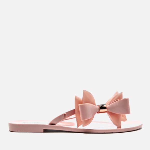 Melissa Women's Harmonic Cute Flip Flops - Blush