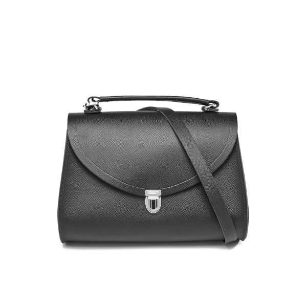 The Cambridge Satchel Company Women's Poppy Bag - Black Saffiano