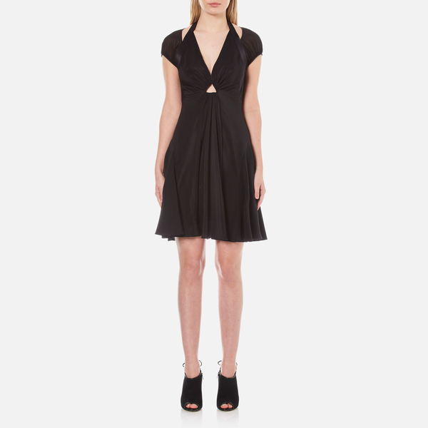 Alexander Wang Women's Short A-Line Dress with Gathered Sleeves - Matrix