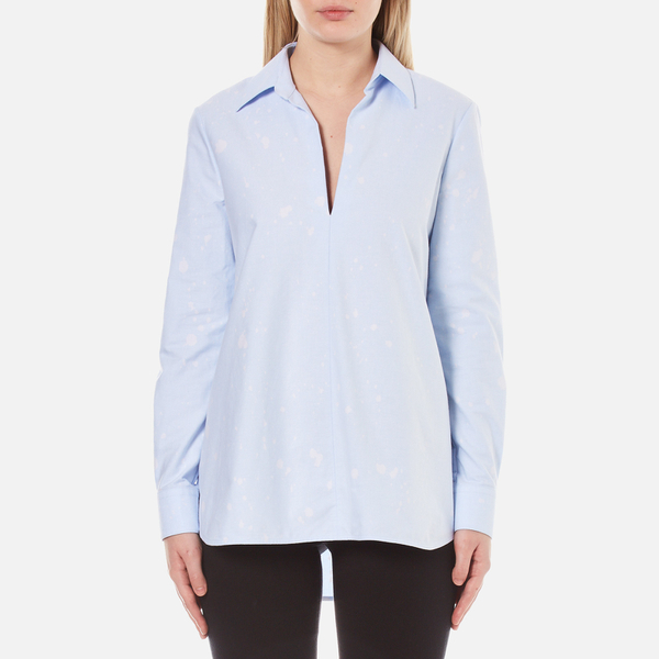 Alexander Wang Women's A-Line Tunic Shirt - Pacific