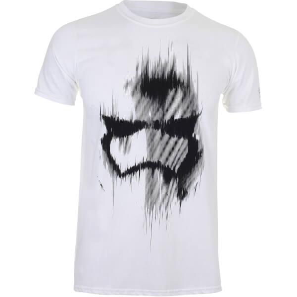 Star Wars Boys' Stormtrooper Mask T-Shirt - White