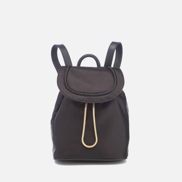 Diane von Furstenberg Women's Satin Backpack - Black