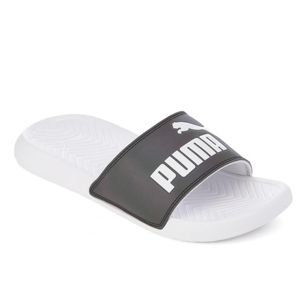 4a2ea1da855 Puma Women s Popcat Swan Slide Sandals - Puma White Womens Footwear ...