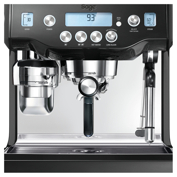 Heston Coffee Maker Reviews : Sage by Heston Blumenthal BES980BSUK The Oracle Coffee Machine - Black IWOOT