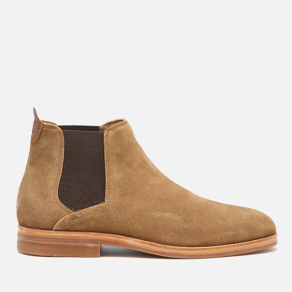 Hudson London Men's Tonti Suede Chelsea Boots - Tobacco