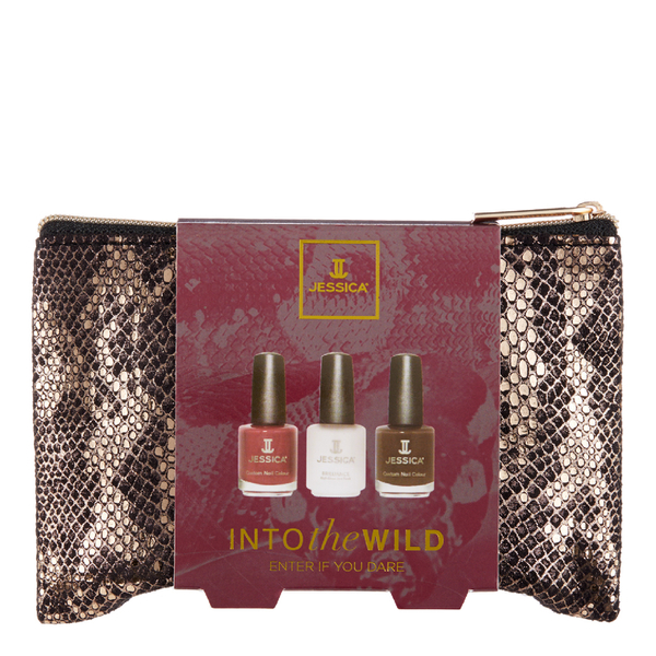Jessica Nails Into The Wild Gift Set - Enter If You Dare