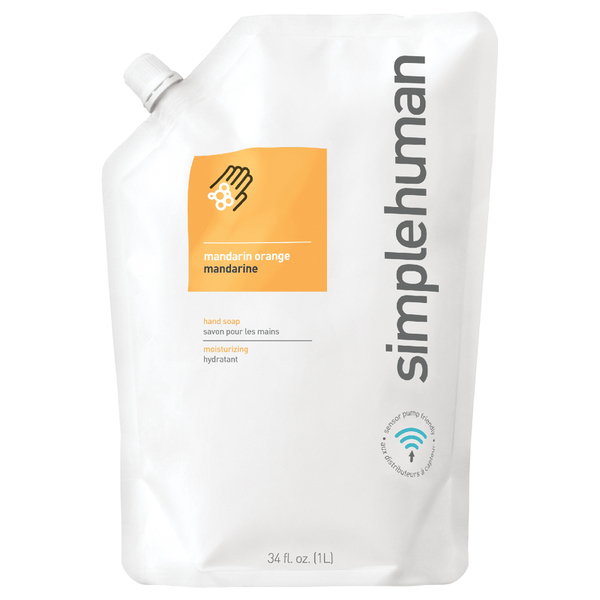 simplehuman Liquid Hand Soap Refill Pouch - Mandarin Orange 1L