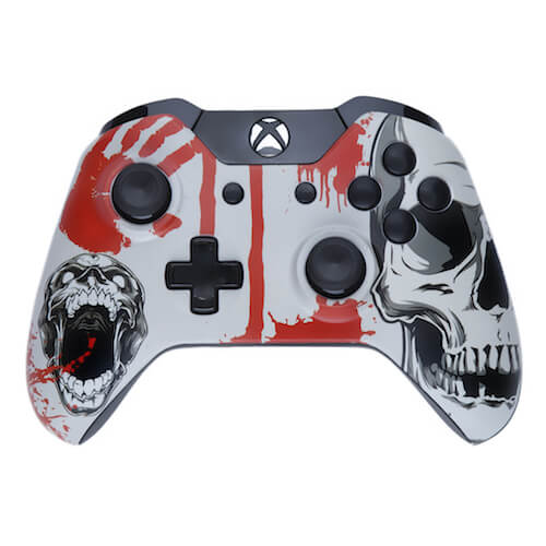 Manette Custom Xbox One - Édition Skull Trauma