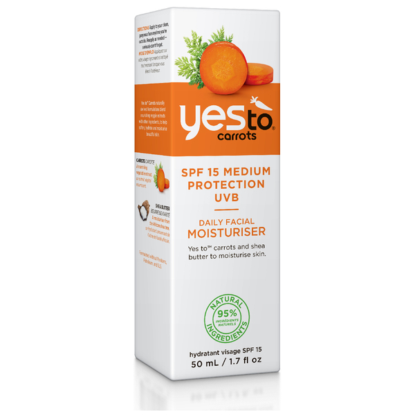 yes to Carrots Daily Facial Moisturizer with SPF15