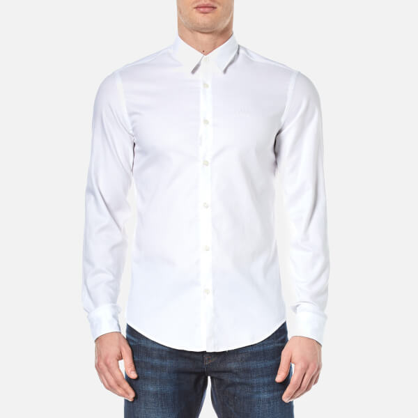 BOSS Green Men's Buster Shirt - White
