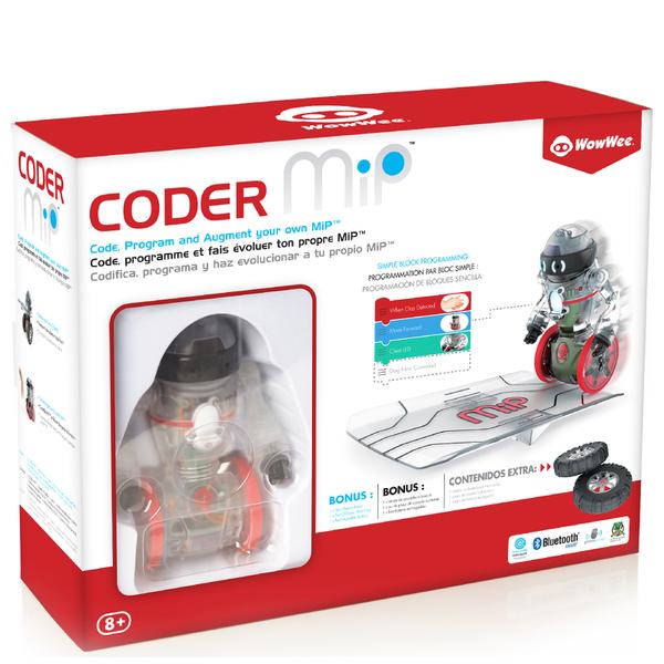 Wowwee Coder Mip Robot Grey Toys Zavvi Australia