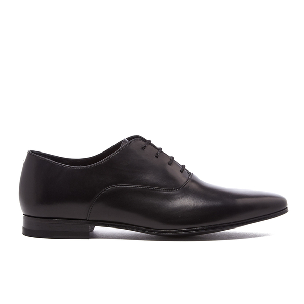 bd2bc526210 Paul Smith Men's Fleming Leather Oxford Shoes - Nero Parma | FREE UK ...