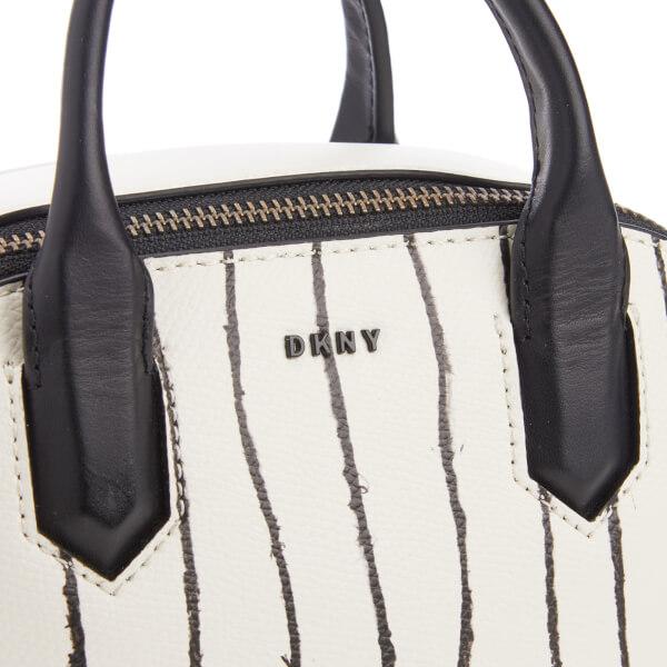 DKNY Women s Mini Satchel Bag - Twine Stripe  Image 4 621ad296d